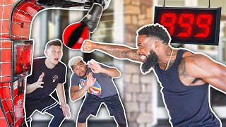 2Hype Punch Challenge...How Hard Can 2Hype Punch?!