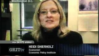 GRITtv: Heidi Shierholz: Focus on Jobs