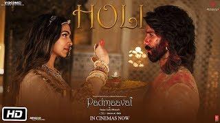 Full Video:  Holi (Manganiyars & Langa's folk song) | Padmaavat | Deepika Padukone | Shahid Kapoor