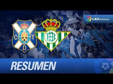 Tenerife (2-0) R. Betis
