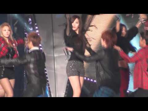 [Fancam HD] 111229 SBS Gayo Daejun - Opening full (Gyu focus)