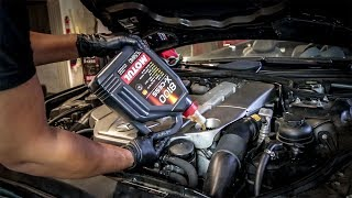Here's Why A Mercedes Oil Change Costs $320 And Why You Should NEVER Pay That Price-Project SL55 Pt1