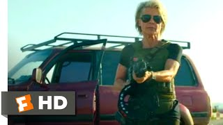 Terminator: Dark Fate (2019) - Sarah Connor Returns Scene (3/10) | Movieclips