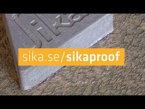 SikaProof A+ Vattentätningsmembran för grundkonstruktioner
