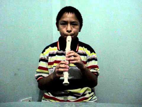 DIOS ESTA AQUI en flauta dulce