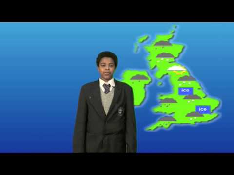 BBC School Report Day 2013: Weather Report by Katherine & Jerome