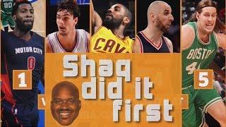 Shaqtin A Fool: Shaq Did It First Edition