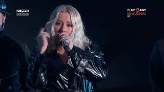 "Cristina Aguilera - Fall In Line ft. Demi Lovato live on ""Billboard Music Awards 2018 HD"""