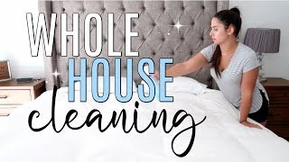 *NEW* Whole House Clean with Me | New Cleaning Products + Fun Music