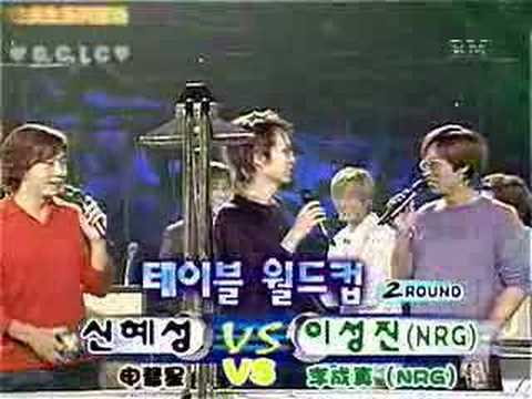 Hyesung and Kangta