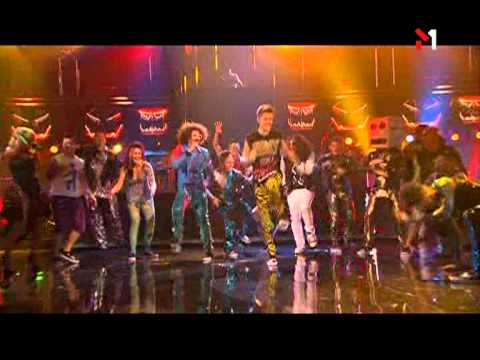 LMFAO at The American Music Awards 2011