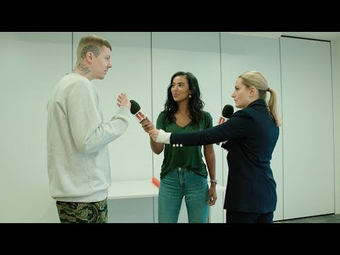 Chicken Shop Date Amelia whips Maya Jama & Professor Green into shape before The BRITs 2018!
