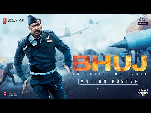 BHUJ Motion Poster   Ajay Devgn, Sanjay Dutt, Sonakshi Sinha, Nora Fatehi   Bhushan Kumar