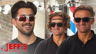 CASEY NEISTAT GETS FIRST HAIRCUT IN OVER A YEAR | Jeff's Barbershop