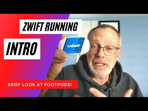 Beginning Footpods for Zwift Running