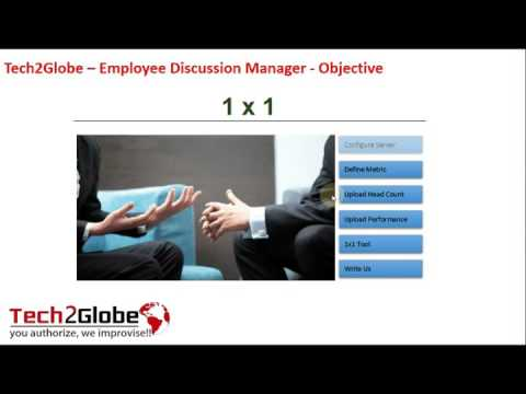 Excel Tool Employee Discussion Manager
