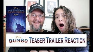 Dumbo Official Teaser Trailer Reaction Disney Live Action