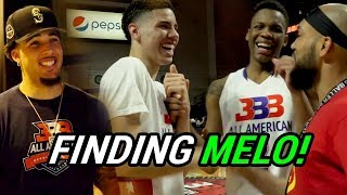Where Is LAMELO BALL!? Overtime Larry Searches For Melo On Las Vegas Strip! Challenges Him To 1-1 😱