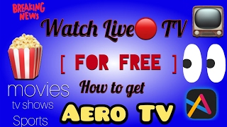 How to get Aero Tv - Watch Live TV on your iphone, ipad and ipod touch. FREE (No jailbreak/computer)