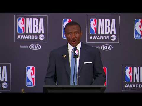 Dwane Casey 17'-18' NBA Coach Of The Year #NBAAwards Press Conference