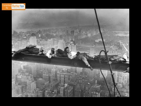 Iconic Vintage Construction Photos