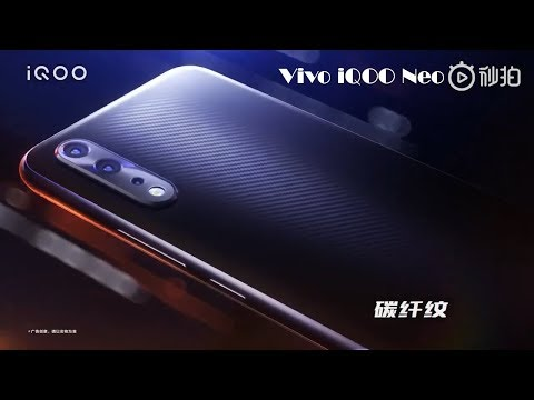 video Vivo iQOO Neo (6 GB RAM, 64 GB hafıza)