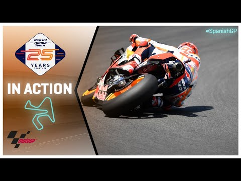 Honda in action: Gran Premio Red Bull de España