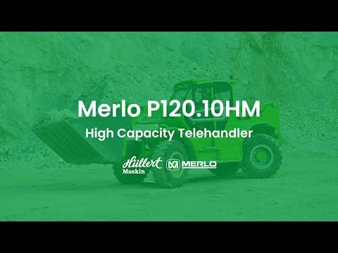 Merlo P120 10HM - Mångsidig teleskoplastare