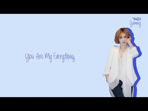 Gummy (거미) - You Are My Everything Lyrics (Han/Rom/Eng)