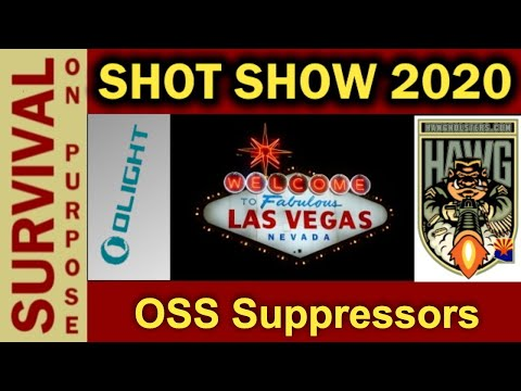 How OSS Suppressors Are Different - SHOT Show 2020