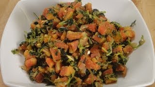 Carrot Methi Sabzi ..