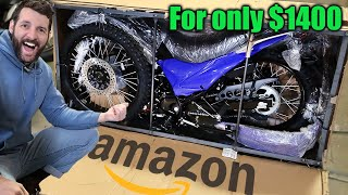 I BOUGHT the CHEAPEST street legal bike on Amazon