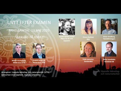 Livet efter examen - en paneldiskussion mellan fem deltagare från näringslivet
