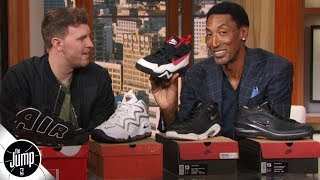 Scottie Pippen shows off his best kicks from his NBA career   The Jump