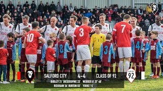 Goals from Salford City vs Class of 92 and Friends at The Peninsula Stadium!