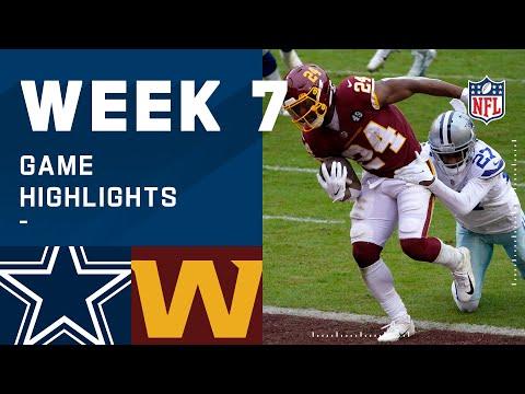 Cowboys vs. Washington Football Team Week 7 Highlights   NFL 2020
