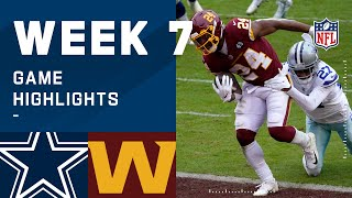 Cowboys vs. Washington Football Team Week 7 Highlights | NFL 2020