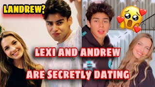 Is Lexi Rivera and Andrew Davila secretly dating? #landrew real😳? | Amp squad |