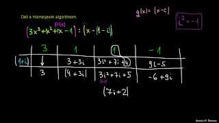Hornerjev algoritem 6