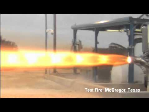 SpaceX Testing - SuperDraco Engine Firing