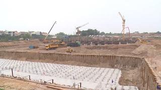 Năm 2018, Hà Nội dự kiến đưa vào khai thác trạm bơm lớn nhất Đông Nam Á