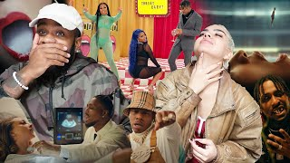 👅💦👼🏾 | BRS Kash - Throat Baby Remix feat. @DaBaby and @City Girls [Official Music Video] [REACTION]