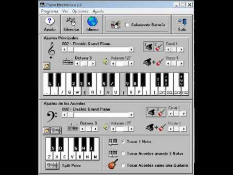 Nestor en Bloque - Estoy solo Piano electronico 2.5