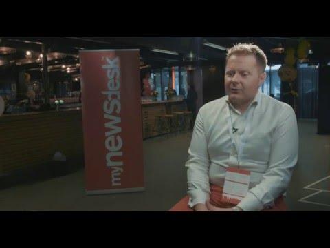 Intervju med Jonathan Bean på Mynewsday 2016