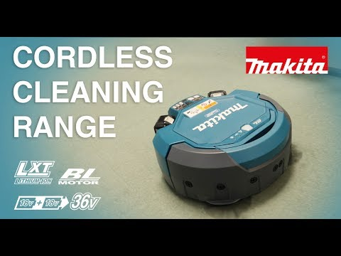 Makita DRC200Z Twin 18v Cordless Robotic Vacuum Cleaner 2 x 5.0ah Batteries & Charger
