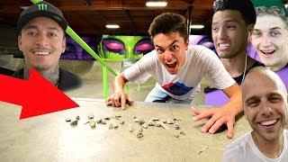 Skate STOPPING Nyjah's Skatepark! w/ John Hill, Garrett Ginner & Dale Decker *LA Part 1*