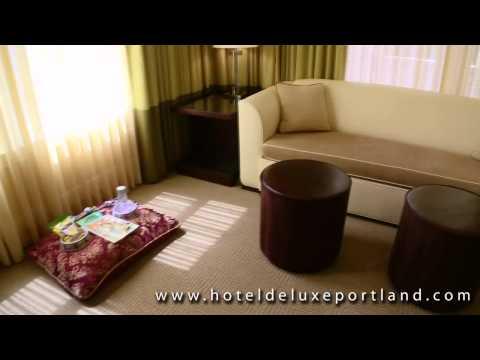 Queen Premiere Suite - Hotel deLuxe Portland