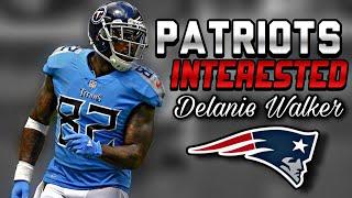 Patriots Interested in TE Delanie Walker