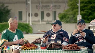Brett Favre and Bill Swerski's Superfans talk history of Packers vs. Da Bears | NFL | NBC Sports
