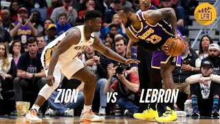 Zion vs LeBron